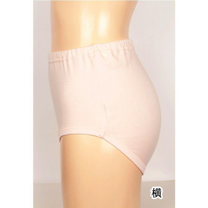 【Nojima】さわやか快適ショーツ【パッド部35cc】【M/L】綿100%/日本製/尿漏れショーツ失禁女性用