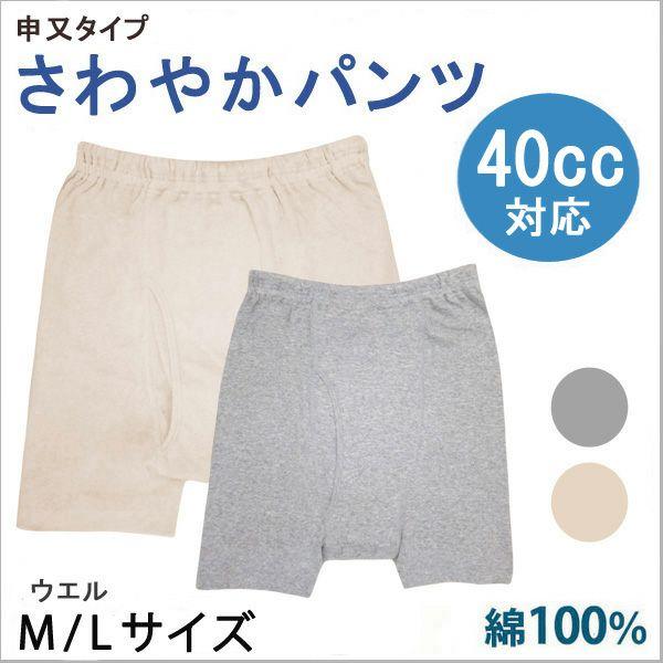 【ウエル】さわやかパンツ【申又タイプ】【40cc】【M/L】