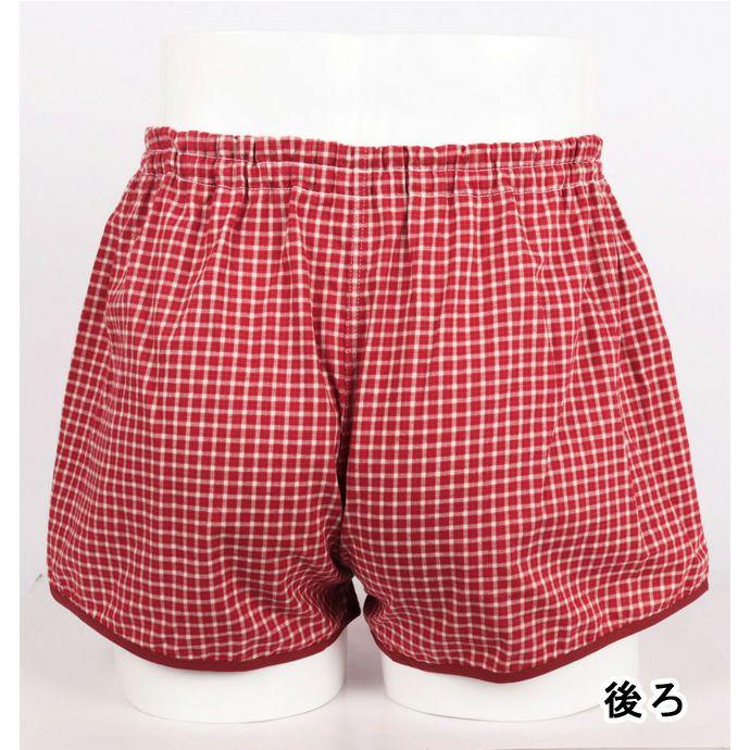 【日本エンゼル】【3196】不安解消カジュアルパンツ【トランクスタイプ/前開きタイプ】【25cc】【M/L】