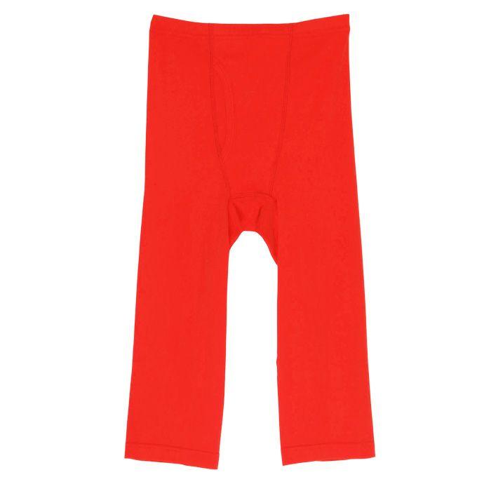 【Nojima(ノジマ)】紳士【フライス赤】【ロングパンツ】【ももひき】【LL】赤のみ/綿100%/日本製