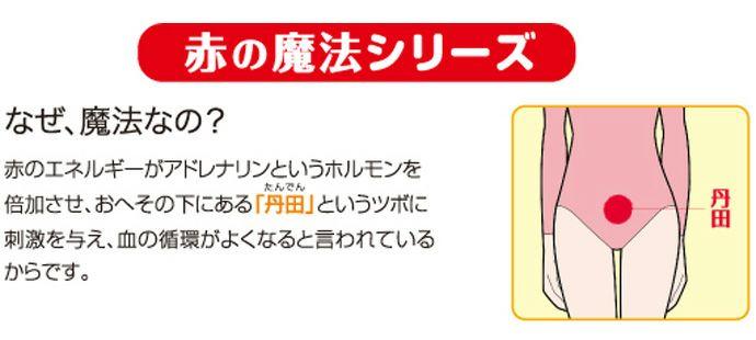 【Nojima(ノジマ)】【赤の魔法】紳士肌着【フライス赤】【長袖丸首】【LL】冷え取り/防寒/赤のみ/綿100%/日本製